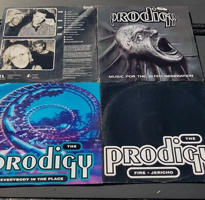 LP The Prodigy MUSIC FOR THE JILTED GENERATION + Fire + Everybody in the Place