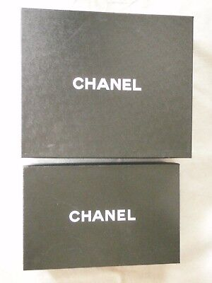 Chanel shoe box pair in 2 sizes empty