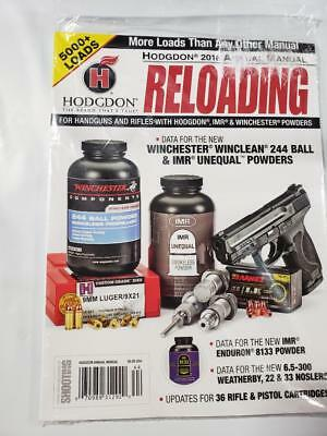 HODGDON 2018 Annual Reloading Manual 5000+ Loads Handgun Rifle USA Seller
