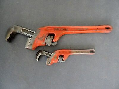 Two Ridgid Pipe Wrenches E14 & E8
