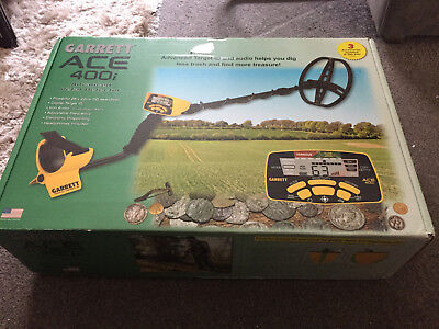 Garrett Ace 400i Metal Detector with Accessories! Most Popular + New GP Pointer