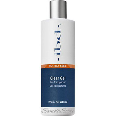 IBD Hard Gel Clear Gel 8oz/226g--603080