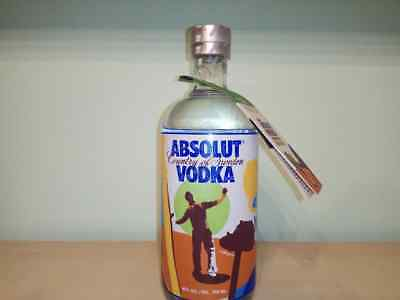 Absolut Greensaver Vodka With Tag