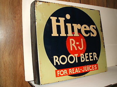 Hires Root Beer Soda sign