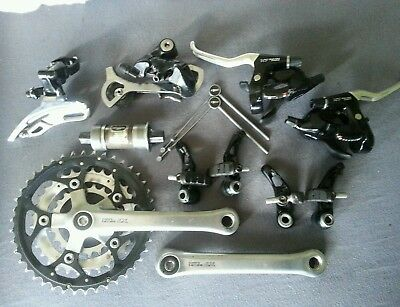 Komplette Shimano Deore LX 563 Gruppe.