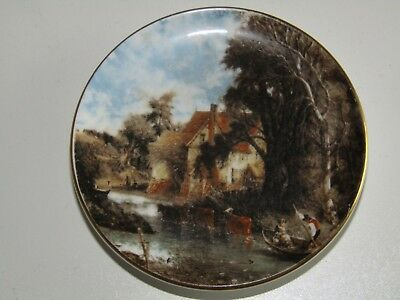 Crown Staffordshire Made in England Famous Painting bone china dish / pin tray