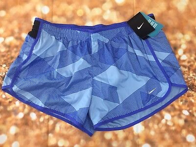 NWT Womens Nike Running Shorts, Style 548479 Color 498 Athletic wear Large