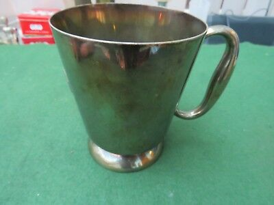Vintage 1920's Or 30's Elkington Silver Plated Pint Tankard