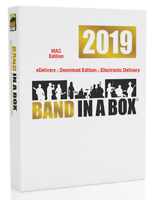 New PG Music Band in a Box Pro 2019 Mac Composition Software eDelivery