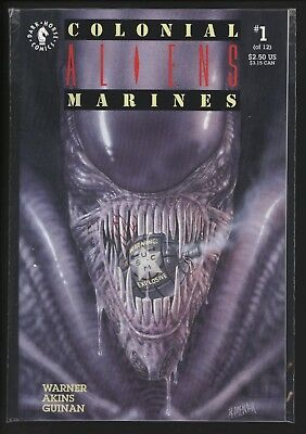 Aliens: Colonial Marines #1 From 1993 Perfect Nm+ Unread Copy Tony Akins Art