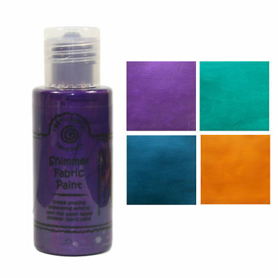 Cosmic Shimmer Fabric Shimmer Paint 50ml
