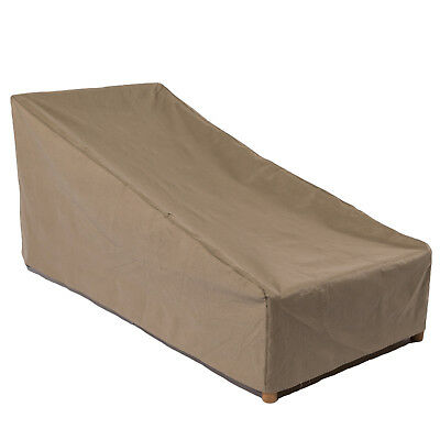 Duck Covers Essential 74 in. L Patio Chaise Lounge Cover