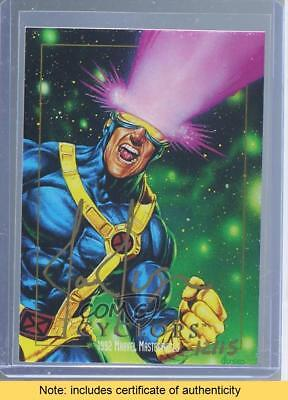 2016 Upper Deck Marvel Masterpieces #13 Cyclops /15 Auto Non-Sports Card 5t2