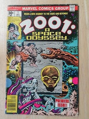 2001: A SPACE ODYSSEY # 1 - Classic Jack Kirby - NICE MID GRADE - Marvel 1976