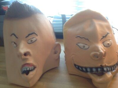 Beavis and Butthead Official Licensed MTV 1993 Costume Masks