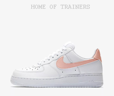 new concept cef63 f3563 Nike Air Force 1  07 Patent White Oracle Pink Girls Women s Trainers All  Sizes