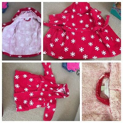 Jhon Lewis baby dressing gown 6-9 months