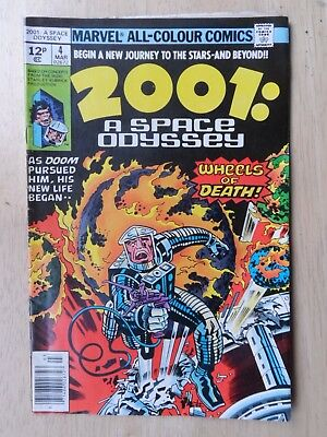 2001: A SPACE ODYSSEY # 4 - Classic Jack Kirby - MID GRADE - Marvel 1976