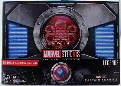 Hasbro SDCC 2018 Marvel Legends Red Skull & Electronic Tesseract Exclusive
