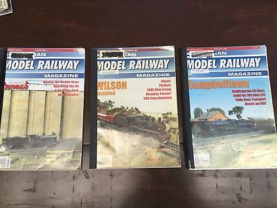 Model Railway Magazine. Vol 22, No 4,6,7. Old Library Bindings. Well Read Con.