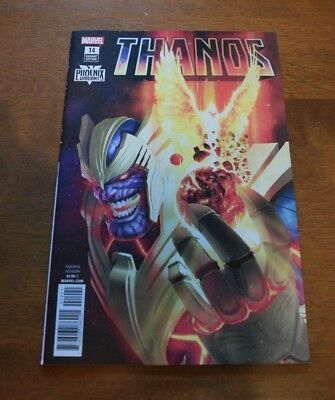 Thanos #14 Rahzah Variant High Grade See Scans Cosmic Ghost Rider Donny Cates