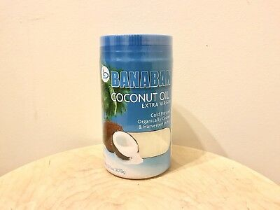 BANABAN Organic Coconut Oil 1 Litre (FREE SHIPPING!)