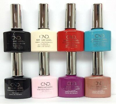 NEW FORMULA CND Shellac LUXE - 65 Shades/Colors 0.42oz/12.5ml - Choose Any Color