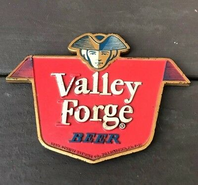 Vintage Valley Forge Beer Composition Sign Adam Scheidt Brewing Co Norristown Pa