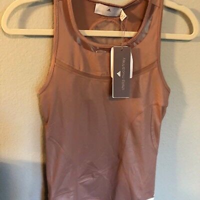Adidas by Stella McCartney NWT's Mesh Back Running/Training Tank Size Small