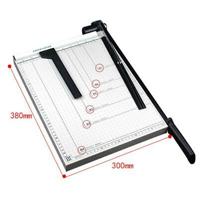 B4 Paper Cutter Card Photo Scrapbook Metal Guillotine Trimmer For Home Office
