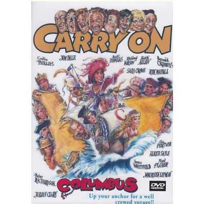 CARRY ON COLUMBUS = DVD = (MOD) Free Au Post  =