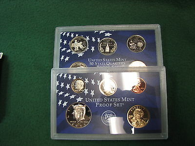 2000 PROOF Set  10 Coin Set SEALED in Plastic From The U.S. Mint !