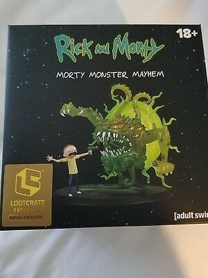 SDCC 2018 LOOTCRATE Rick and Morty Total Mayhem Morty Figure Variant