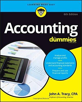 Accounting For Dummies Ebook (PDF) Read on PC/Mobile/Tablet
