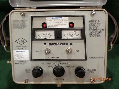 Bacharach Sniffer 503A 51-7334 Gas and Oxygen Leak Detector