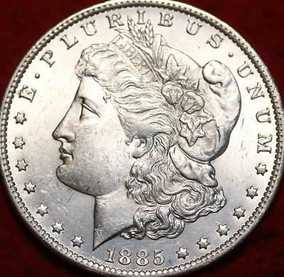 Uncirculated 1885-O New Orleans Mint   Morgan Dollar