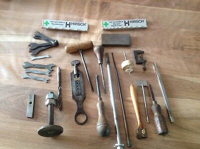 Vintage Collection From Watch Makers Tools Chest