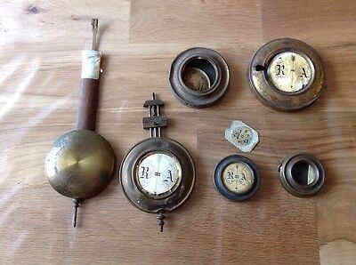 Antique Pendulums For Spare Parts Repair Or Restoration