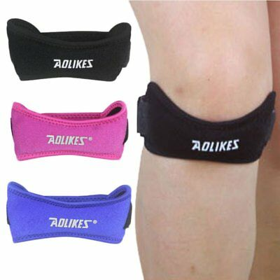USA Patella Knee Strap Support Brace Pain Relief Band Sports Jumper Runners New