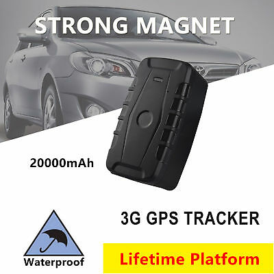 Magnet 3G GPS Tracker Waterproof Vehicle Car Yacht Tracking Device Anti-theft