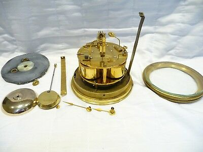 Antique French striking restored clock movement Jappy Freres 1880'S mantel clock