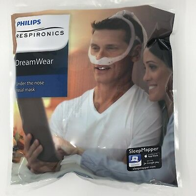 Phillips Respironics DreamWear nasal  Cpap Cushion sizes:  Sml-Med-Lge