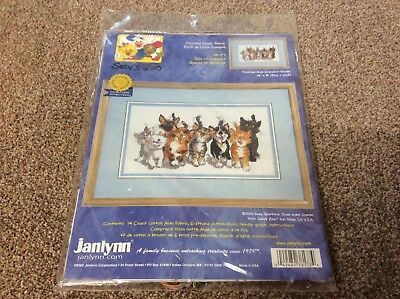 Suzy's Zoo New Sealed Janlynn Counted Cross Stitch Kit