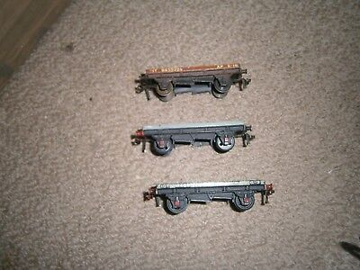 Hornby Dublo Low Sided Wagons