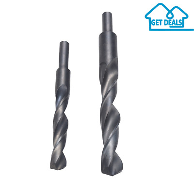 12mm-20mm Blacksmith & Reduced Shank Drills HSS Twist Drill Bits Hand Drill Tool