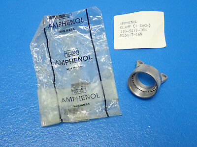 Nos! Amphenol Ms3417-16N Mil Spec Aircraft Strain Relief Clamp 118-3417-16N