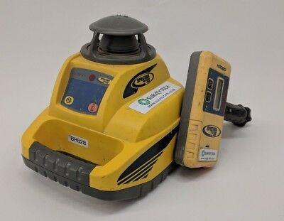Spectra LL300 Rotating Laser Level  with detector - CALIBRATED
