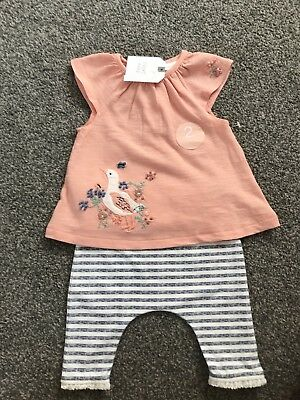 NEXT Baby Girls Outfit BNWT age size Up to 1 month Newborn Brand New With Tags