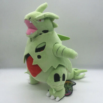 Mega Tyranitar Pokemon Center Plush Toy Evolution Toys Stuffed Animal Doll 12""