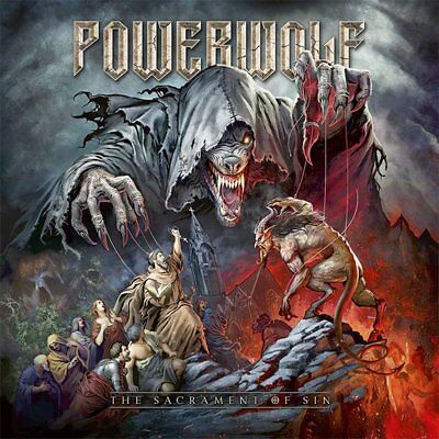Powerwolf – The Sacrament Of Sin 2018 COLLECTOR'S CD! SEALED! FREE SHIPPING!